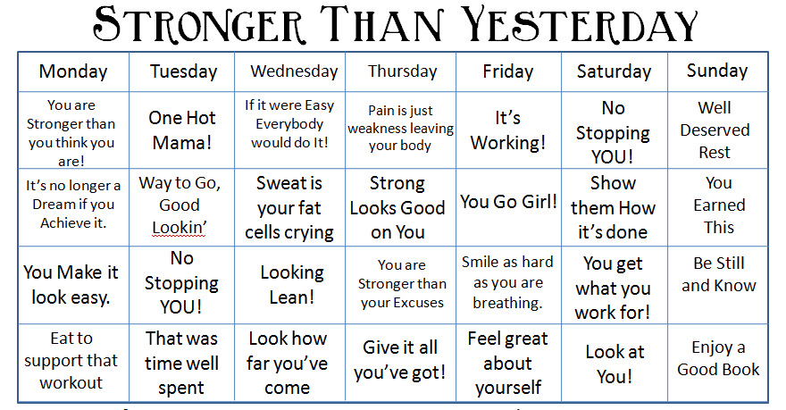 New Motivational Calendar Free Download Centsably Fit