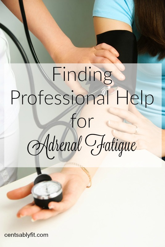 finding professional help for adrenal fatigue
